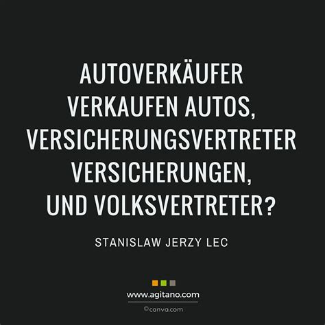 Auto Zitate by Stanislaw Jerzy Lec Autoverkaeufer Verkaufen Autos