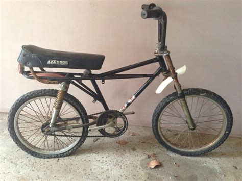 motocross push bike vintage bmx moto cross shockie bike push