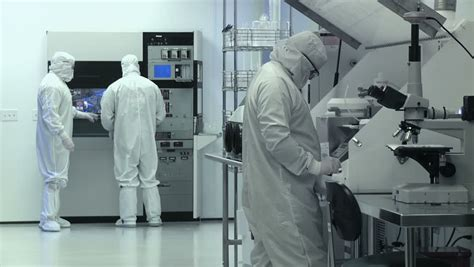 Clean Room Bunny Suit by Liquid Silicone In The Glass Stock Footage 7491145