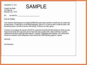 6 debt settlement letter marital settlements information