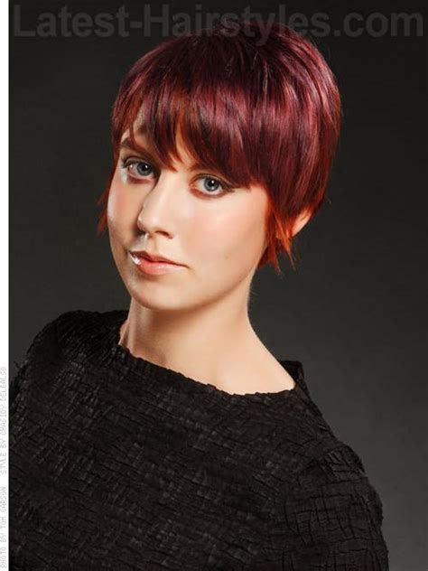 pixie cut with long wispy back and sides december 2012 hairstyle and haircut