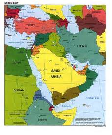Southwestern Asia Map by Blank Political Map Southwest Asia