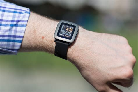 Pabble Time pebble time review the verge