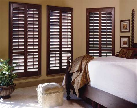 plantation shutters in bedroom using light to create environments in your home budget