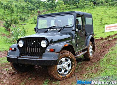 thar jeep white mahindra thar looks classier than rediff com