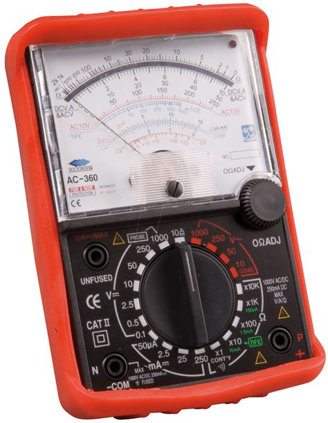 Multimeter Analog mt 250 analog multimeter at reichelt elektronik