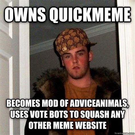 Meme Quick - quickmeme gets blacklisted from reddit for trying to game