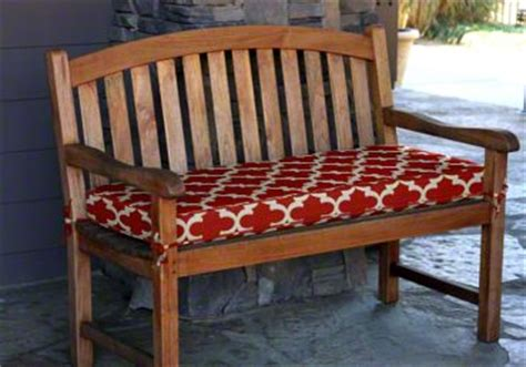 custom size bench cushions outdoor indoor bench cushions to fit any size or style