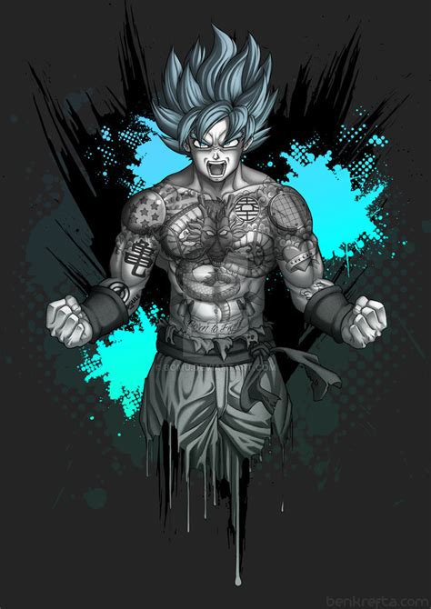 goku s tattoos by bomu on deviantart