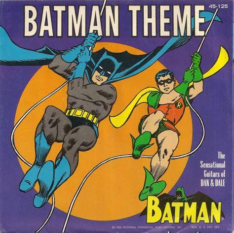 sensational theme the sensational guitars of dan dale batman theme
