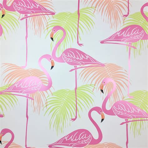 flamingo wallpaper ebay flamingo wallpaper birds tropical exotic palm trees animal
