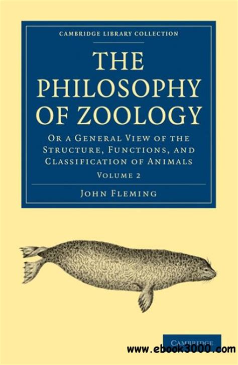 general zoology vol 3 or systematic history classic reprint books the philosophy of zoology or a general view of the