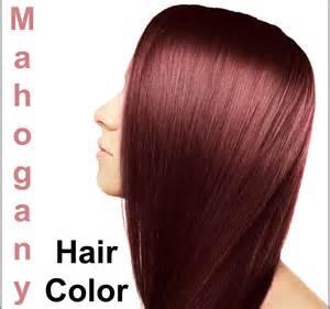 mahogany hair color bing images