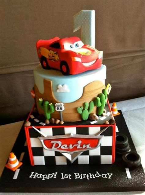 Cars Themed Birthday Cake Ideas by Cars Themed Birthday Cake All Things Disney