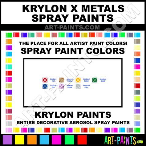 x paint krylon x metals spray paint aerosol colors krylon x