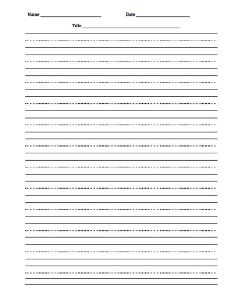 printable 2nd grade writing paper free printable handwriting worksheets for second grade