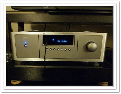 fs nad  master series dual mono integrated amplifier