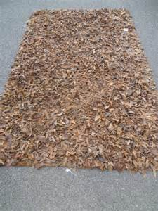 leather rug antiques atlas 1980s italian designer leather rag rug
