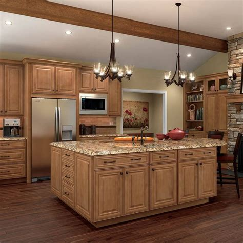 kitchen cabinets maple wood shenandoah mckinley 14 5 in x 14 5625 in mocha glaze maple