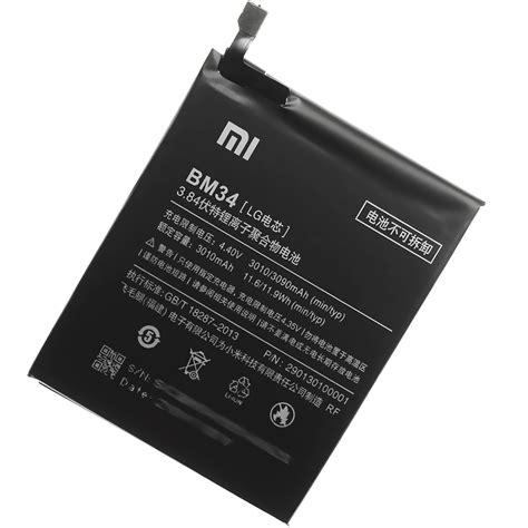 Batterybateraibatre Xiaomi Note Pro Bm34 3010 Original original xiaomi bm34 akku f 252 r xiaomi mi note pro 3010mah accu battery ebay