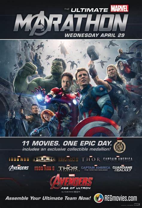 ultimate marvel marathon hours movies sitting