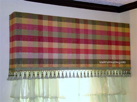 inverted box pleat valance tacked with bronze nail heads window valance box save