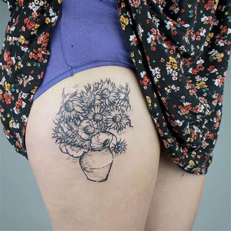 van gogh sunflower tattoo 25 best ideas about gogh on starry