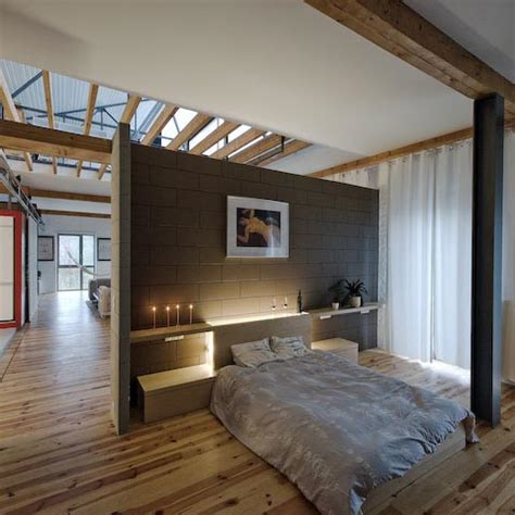 privacy wall for bedroom belgian loft loftenberg