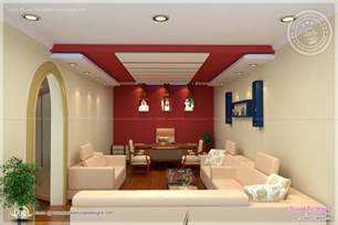 Interior Decoration Of Home Home Office Interior Design By Siraj V P Home Kerala Plans