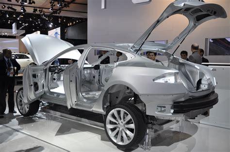 Tesla Aluminum 2012 Tesla Model S Is Aluminum Its Secret Weapon