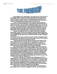 Definition Essay Exles Friendship by The Friendship Linguistics Classics And Related Subjects Marked By Teachers
