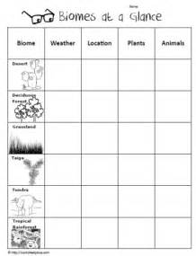 biome graphic organizer worksheets