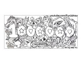 fun2draw coloring pages fun2draw freebies 1 million subscribers on