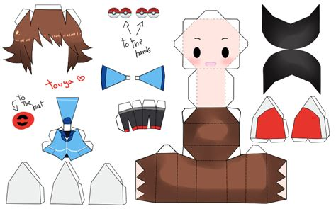Papercraft Person - papercraft groudon images images