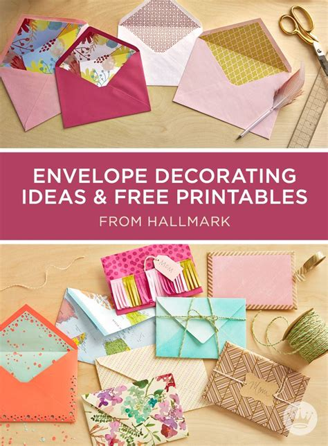s day card ideas diy envelope liners diy