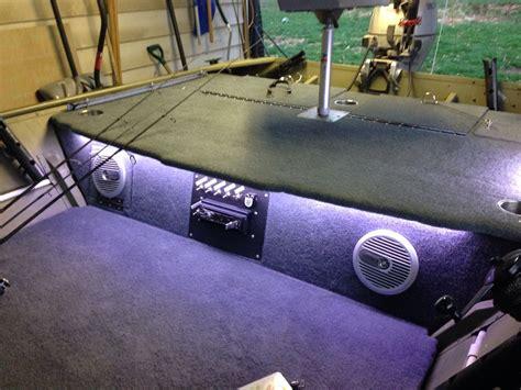 boats speakers lowe jon boat speakers lights lowe custom jon boat