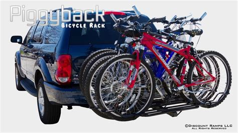 How To Attach Bikes To Bike Rack by Bc 08581 2a 2ext Piggyback Bicycle Rack Installation