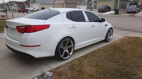 Kia Optima Customized Kia Optima Custom Wheels Ruff R1 20x8 5 Et 38 Tire Size