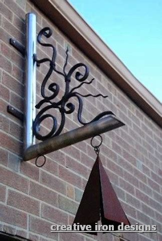 wrought iron awning brackets creative iron designs