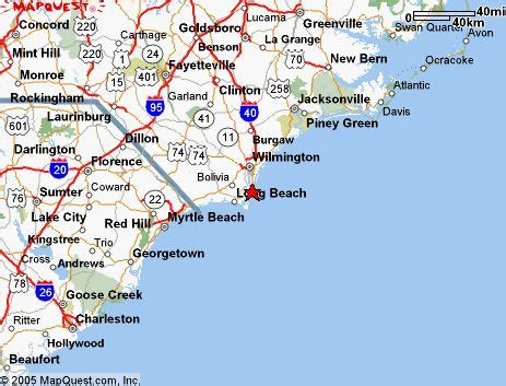 coastal carolina map map of south carolina beaches coastal south carolina