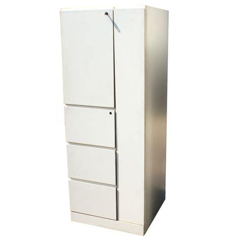 White Storage Closet 64 Quot White Knoll Storage Cabinet Ebay