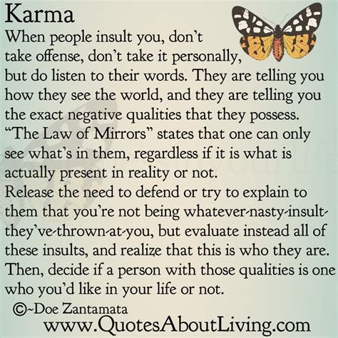 Karma Quotes Quotes On Karma And Effect Quotesgram