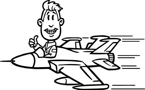 coloring pages airplane pilot cat pilot airplane coloring pages royalty free stock