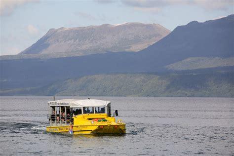 duck boat rotorua rotorua duck tours sightseeing family fun in a hibious