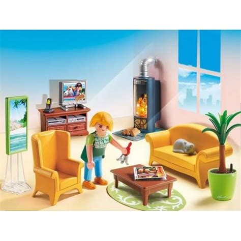 playmobil woonkamer goedkoop playmobil woonkamer met houtkachel 5308 kopen