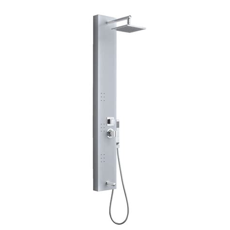 Shower Tower Systems Ove Decors 3 Jet Shower Tower System In Stainless Steel