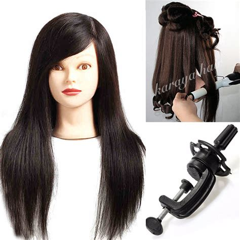 100 Real Hair Mannequin by 100 Real Hair Mannequin Cl Black Wig