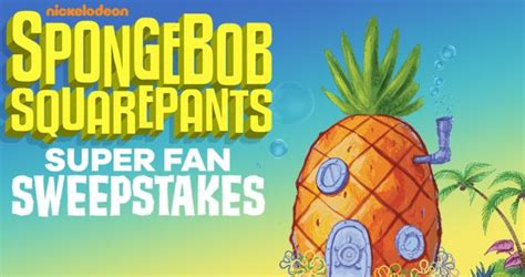 spongebob squarepants super fan sweepstakes 2017 - Spongebob Superfan Sweepstakes
