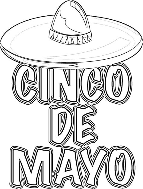 11 coloring pictures cinco de mayo print color craft