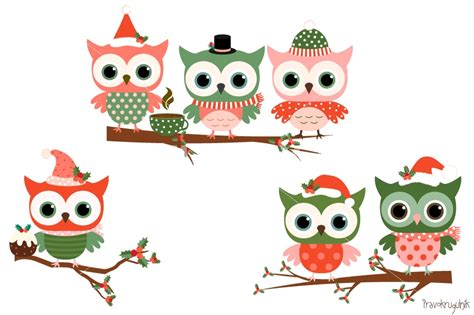images of christmas owls christmas owls clipart set cute owl clip art winter